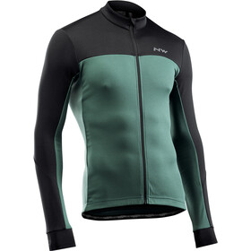 Northwave Force 2 LS Jersey Men, green forest/black
